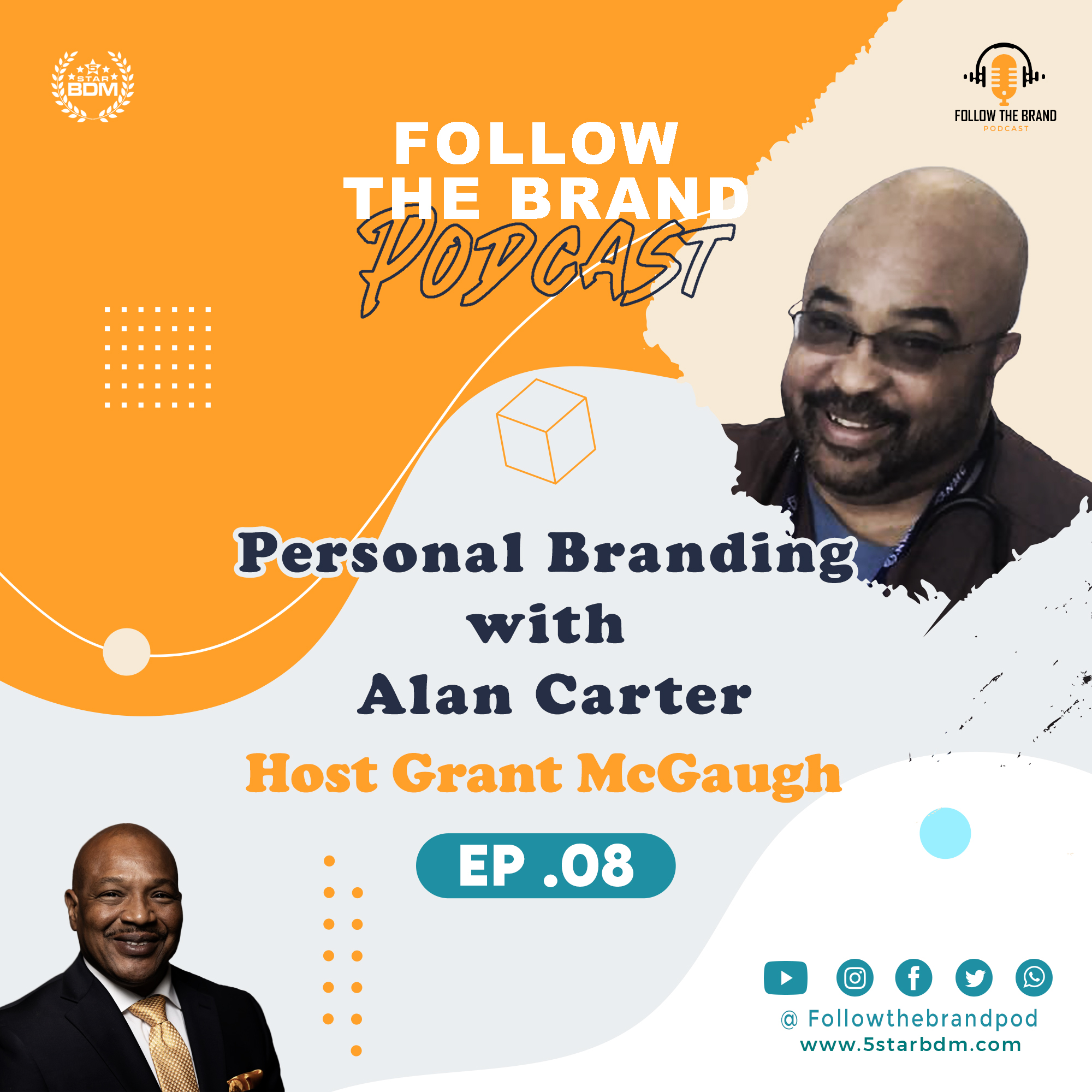 Episode 8: How I make the Hospital feel like Home with Alan Carter Respiratory Therapist