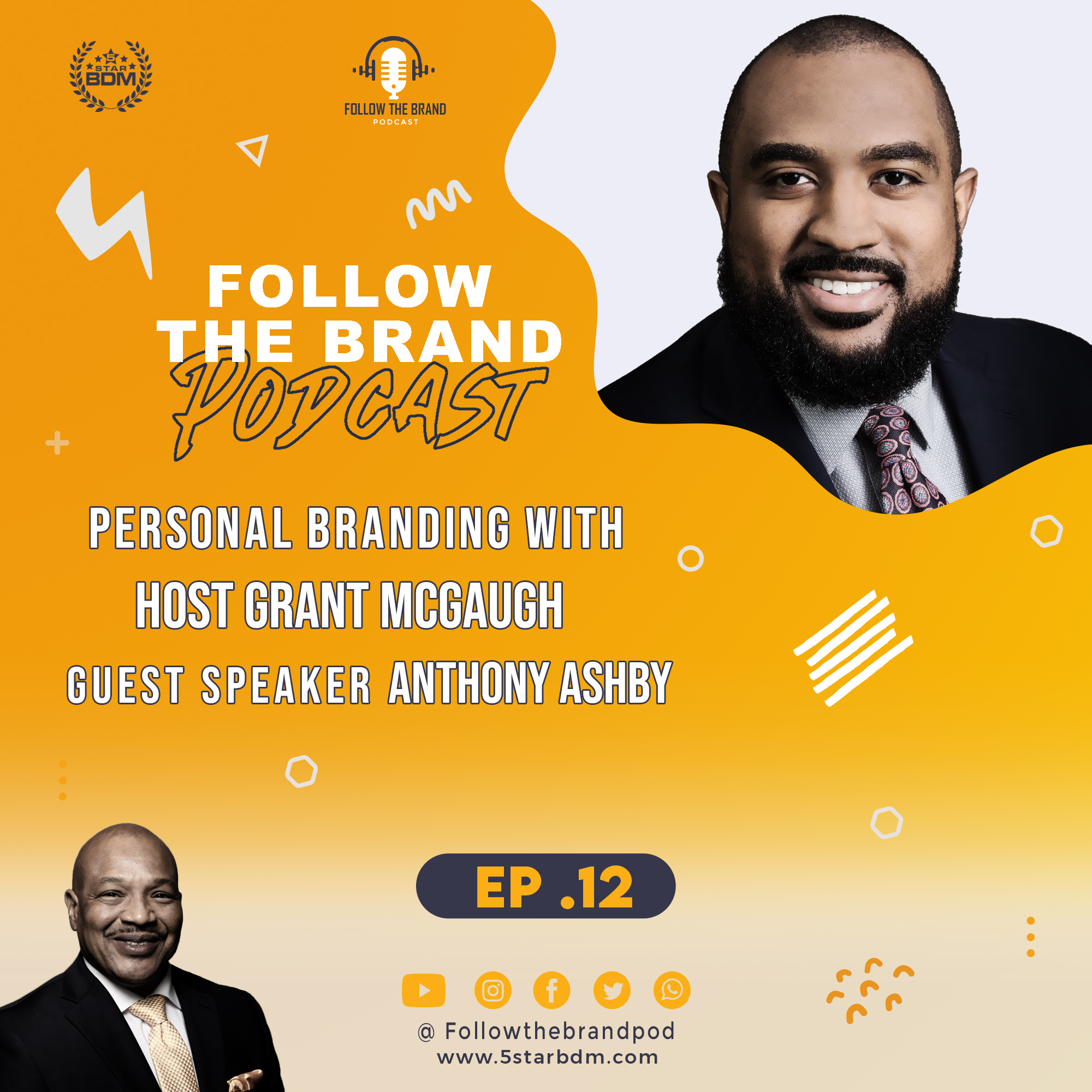 Episode 12: How Relationship Building helps achieve Career Success with Anthony Ashby VP and COO of CHI
