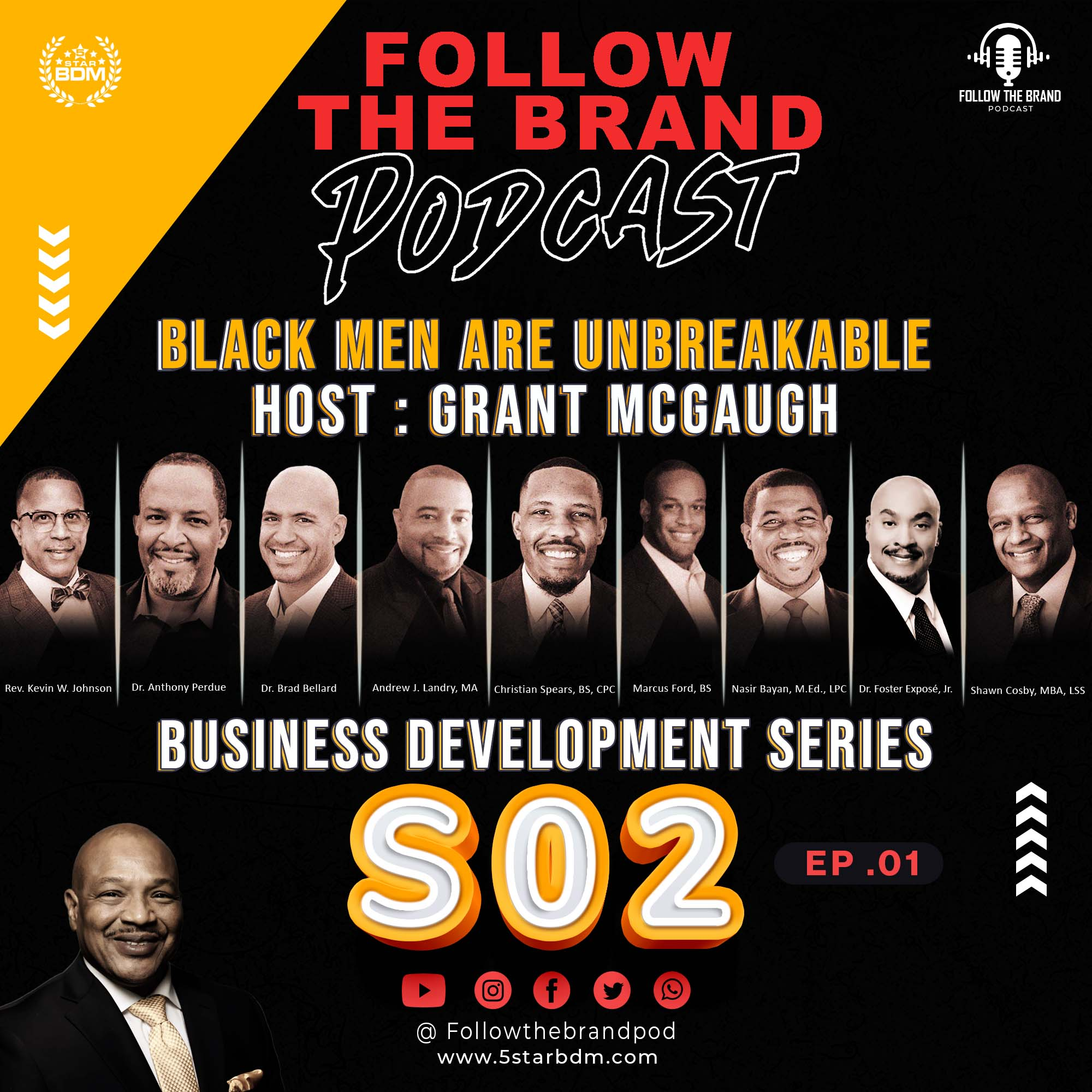 Season 2 Episode 1 : Black Men are UnBreakable
