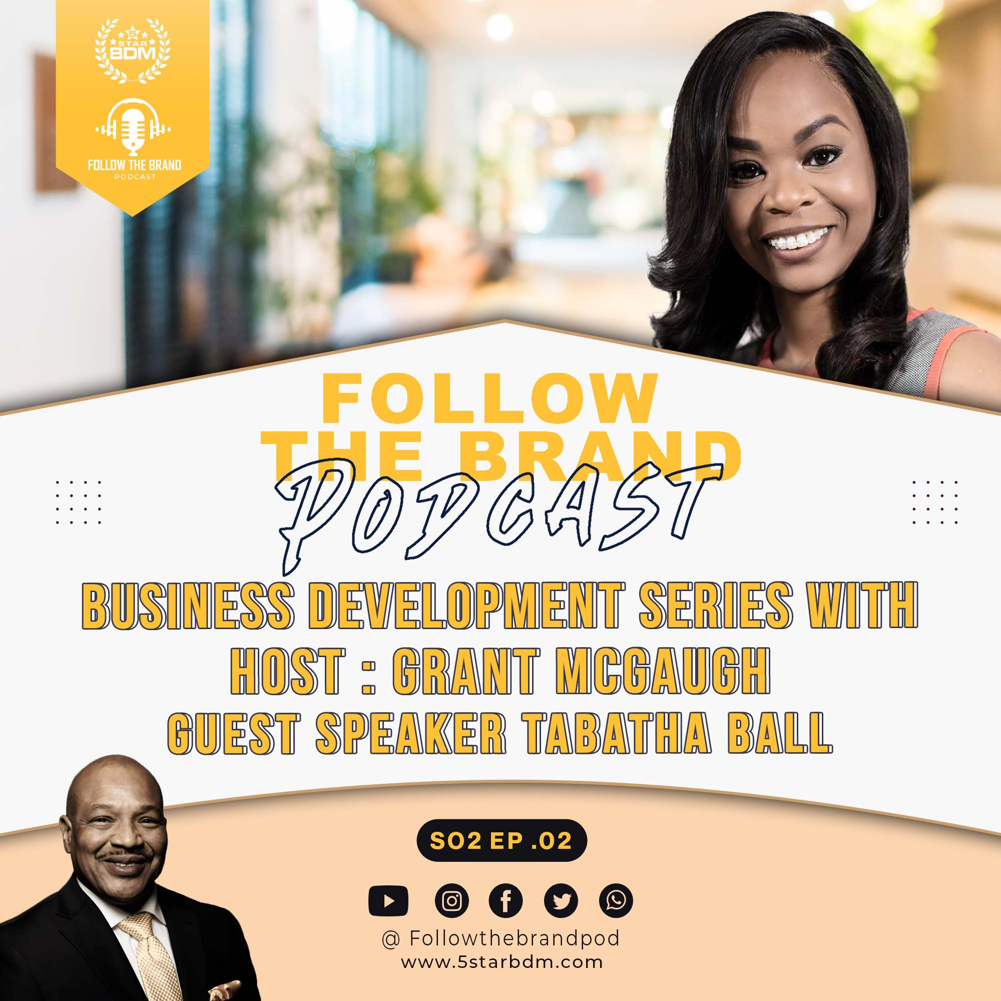 Season 2 Episode 2: Tell Your Story featuring Tabatha Ball Chief Operations Officer Agape Family Health Center
